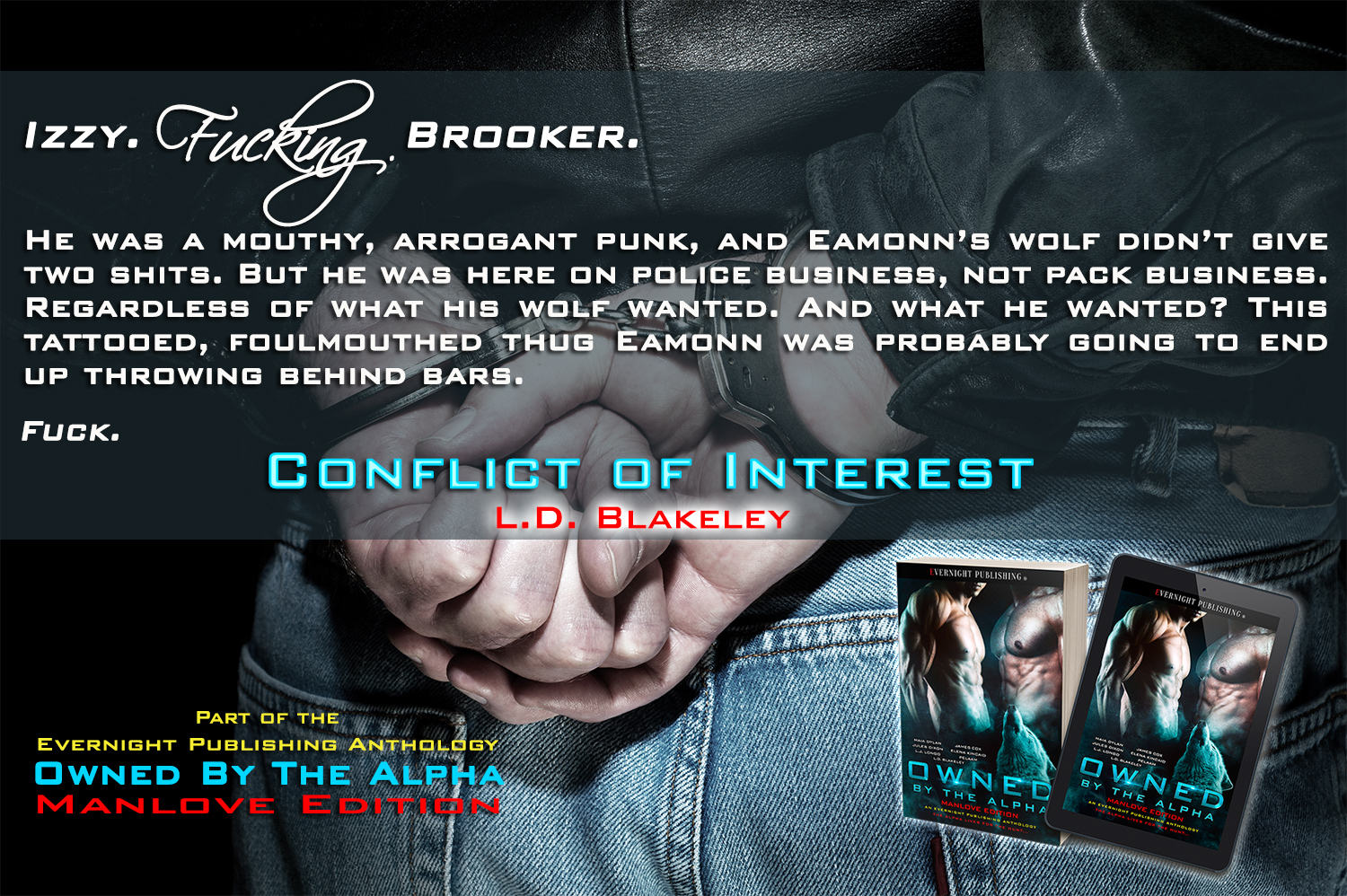 """Izzy FUCKING Brooker"" 